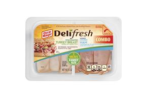 Oscar Mayer Deli Fresh Oven Roasted Turkey Breast And Honey Ham 15Oz