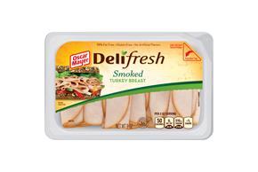 Oscar Mayer Deli Fresh Smoked Turkey Breast 9Oz