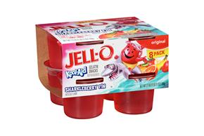 Jell-O Kool-Aid Sharkleberry Fin Gelatin Snacks 8 Ct Cups