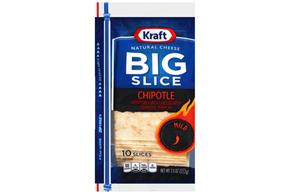 Kraft Big Slice Chipotle Cheddar Slices - 10Ct