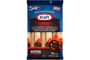 Kraft Chipotle String Cheese 12 Ct Bag