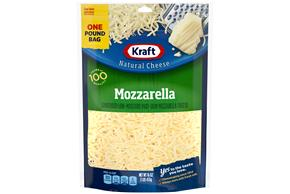 Kraft Mozzarella Shredded Natural Cheese 16 Oz Bag