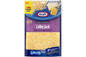 Kraft Colby & Monterey Jack Finely Shredded Natural Cheese 16 Oz Bag