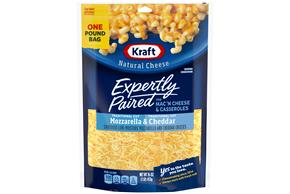 Kraft Pizza Style Mozzarella & Cheddar Shredded Natural Cheese  16Oz Bag