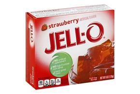 Jell-O Jigglers Mold Kit Valentine Strawberry  Sugar Sweetened 12 Oz Box