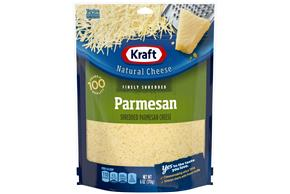 Kraft Parmesan Finely Shredded Natural Cheese  6Oz Bag