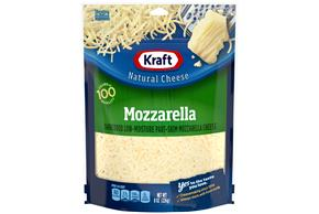 Kraft Mozzarella Shredded Natural Cheese  8Oz Bag