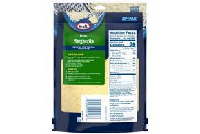 Kraft Mozzarella Finely Shredded Natural Cheese  8Oz Bag