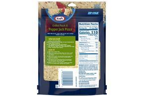 Kraft Pepper Jack Shredded Natural Cheese  8Oz Bag