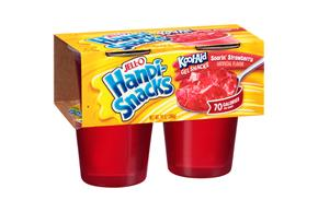 Jell-O Handi-Snacks Soarin' Strawberry Kool-Aid Gel Snacks 4 Ct. Cups