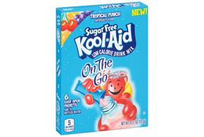 Kool-Aid Sugar Free Tropical Punch Drink Mix 6 ct Packets
