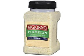 Digiorno Parmesan Shredded Cheese 20 Oz Plastic Jar