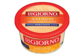 Digiorno Asiago Shredded Cheese 6 Oz Tub
