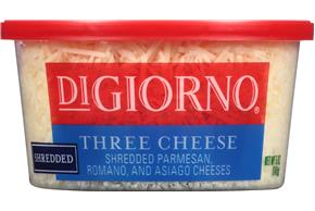Digiorno(R) Shredded Three Cheese Blend 5 Oz. Tub