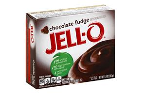 Jell-O  Pudding-Instant Chocolate Fudge 5.9 Oz Box