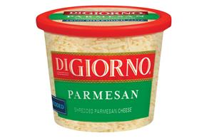 Digiorno Parmesan Shredded Cheese 10 Oz Plastic Tub