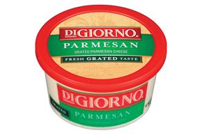 Digiorno Parmesan Grated Cheese 6 Oz Tub