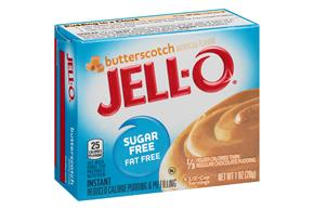 Jell-O Pudding-Instant  Butterscotch Sugar Free Fat Free 1 Oz Box