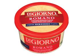 Digiorno Romano Shredded Cheese 6 Oz Tub