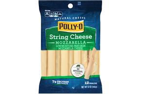 Polly-O Lmps String Cheese - 12Ct