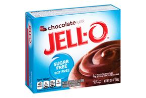 Jell-O  Pudding-Instant Chocolate Sugar Free Fat Free  2.1 Oz Box