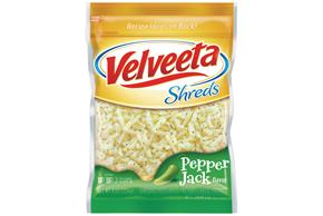 Kraft Pepper Jack Flavor Velveeta Shreds 8 Oz. Bag