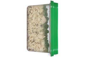 Athenos Crumbled Garlic & Herb Feta Cheese 6 Oz. Tub