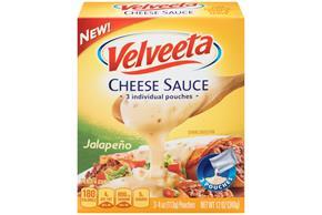 Velveeta Jalapeno Cheese Sauce 3-4 Oz. Pouches