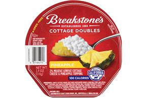 Breakstone's Cottage Doubles Pineapple Cottage Cheese 3.9 Oz. Tray