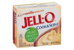 Jell-O Pudding-Cook & Serve Vanilla 3 Oz Box