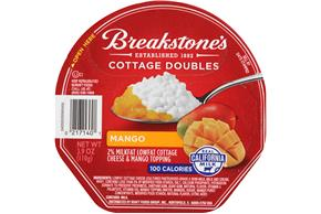 Breakstone's Cottage Doubles Mango Cottage Cheese 3.9 Oz. Tray
