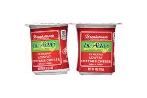 Breakstone's Liveactive 2% Cottage Cheese 4-4 Oz. Cups