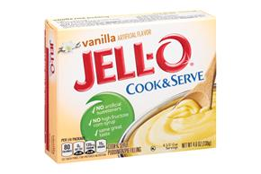 Jell-O Pudding-Cook & Serve  Vanilla  4.6 Oz Box