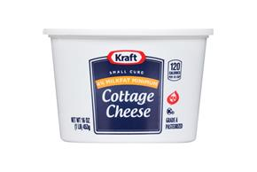 Kraft Small Curd 4% Milkfat Min. Cottage Cheese 16 Oz. Tub