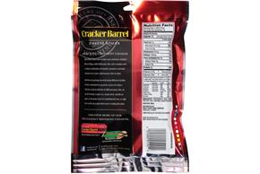 Cracker Barrel Extra Sharp Cheddar Cheese Sticks 10 Ct Bag