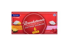 Breakstone's Cottage Doubles Strawberry & Pineapple Cottage Cheese Variety Pack 6-3.9 Oz. Cups