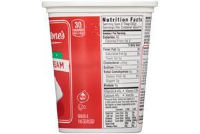 Breakstone's Fat Free Sour Cream 16 Oz. Tub