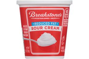 Breakstone's Reduced Fat Sour Cream 8 Oz. Cup
