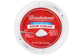 Breakstone's Reduced Fat Sour Cream 16 Oz. Tub