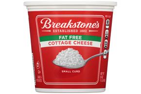 Breakstone's Small Curd Fat Free Cottage Cheese 24 Oz. Tub