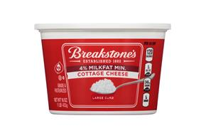 Breakstone's Large Curd 4% Milkfat Min. Cottage Cheese 16 Oz. Tub