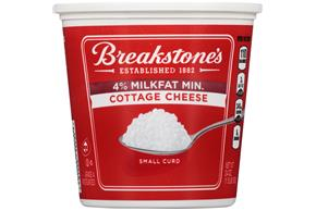 Breakstone's Small Curd 4% Milkfat Min. Cottage Cheese 24 Oz. Tub