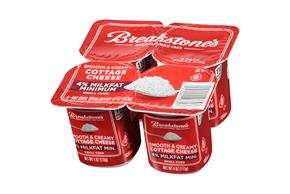 Breakstone's Small Curd 4% Milkfat Min. Cottage Cheese 4-4 Oz. Cups