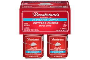 Breakstones 2 Cottage Cheese 4 Oz Cups