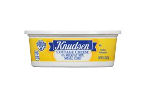 Knudsen Small Curd Cottage Cheese 8 Oz Tub