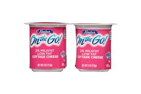 Knudsen On The Go -  Low Fat Cottage Cheese 4-4 Oz Cups