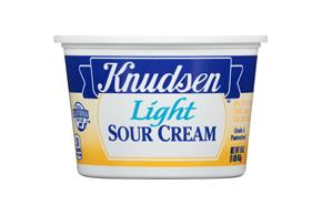Knudsen Light Sour Cream 16 Oz Tub