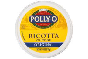 Polly-O Original Whole Milk Ricotta Cheese 15Z Tub