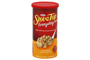 Kraft Stove Top Everyday Stuffing Mix for Chicken 12 oz. Canister