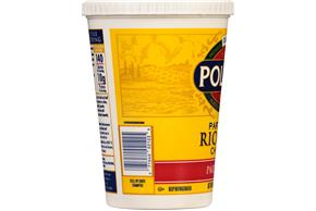 Polly-O Part Skim Ricotta Cheese 48Z Tub
